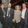 Carol Price, from left, Rex and Daniela Koontz and Dan Price at Rothko Chapel's Moonrise Party on the Plaza October 2013