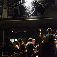 Lowbrow bar Houston