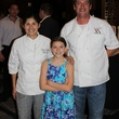 7 Eunice Grassa, from left, Grace DeLaune and Kevin Bryant at the Lucky Dog Gingerbread Doghouse event December 2013
