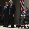 Five living presidents at George W. Bush Presidential Center dedication in Dallas