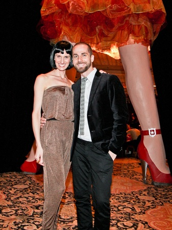 Orange Show Gala, November 2012, Christine Goins, Josh Pazda