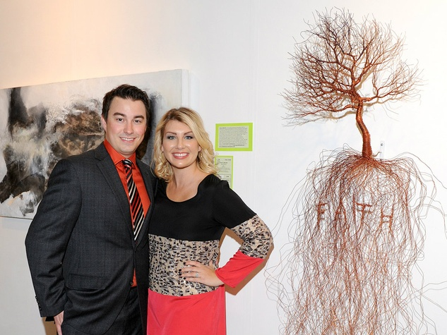 Brad & Jana Parker, art for advocacy