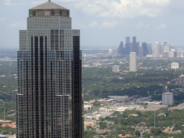 Williams Tower, Transco Tower, downtown Houston, skyline