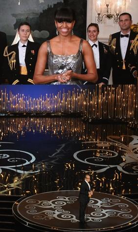 Michelle Obama, Academy Awards, February 2013