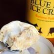 Blue Bell ice cream banana pudding scoop
