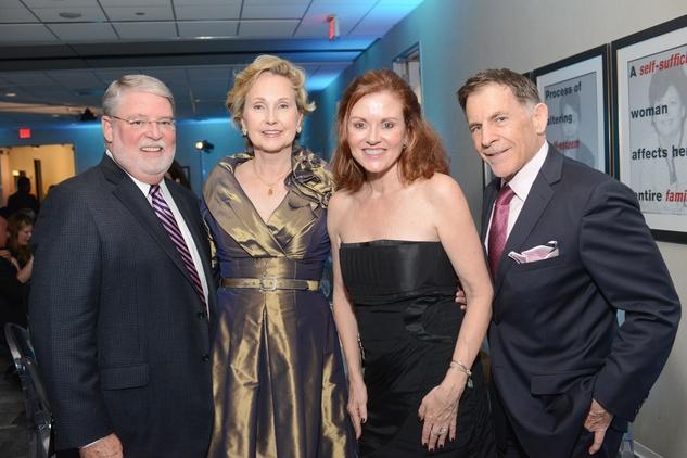 News, Shelby, Dress for Success, October 2014, Louis Tucker, Joyce Tucker, Katina McDanald, Monty McDanald