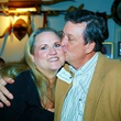 6828 Diane Cervenka and Ed Gilliard at the Cattle Baron Gentlemen's Committee party February 2015