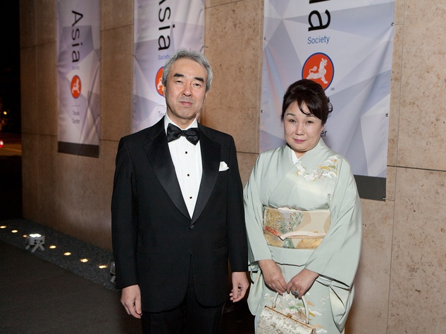 366 Nozomu and Yumi Takaoka at Tiger Ball March 2014
