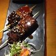 Mochi Sushi beef skewer