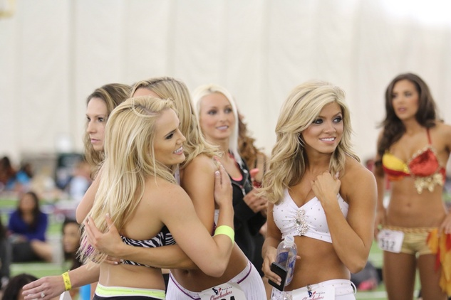 Houston Texans cheerleader tryouts April 2014