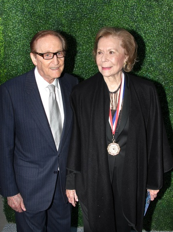 Texas Medal of Arts Awards 2015 Kenneth Z. Altshuler Ruth Altshuler