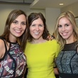 Sara Connell, from left, Michelle Kobelan and Lauren Dupuis at WOW's Membership Drive June 2014