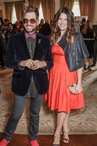 Jeff Shell, Ally Shell at Passion for Fashion luncheon