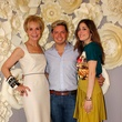 11 Leisa Holland-Nelson, from left, David Peck and Laura Max Nelson at the Dress for Dinner kickoff in new David Peck Showroom September 2014