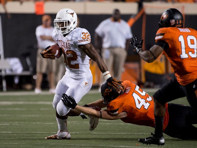 University of Texas Longhorns versus Oklahoma State Cowboys