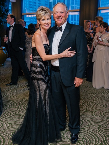 12 Shawn and Jake Hallsted at the Memorial Hermann Gala April 2014