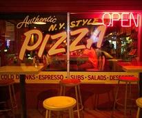 Home Slice Pizza South Congress SoCo Austin restaurant exterior