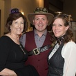 Trudi Hutchings, Ariana Minton, Stephen Minton at Health Museum Steampunk gala