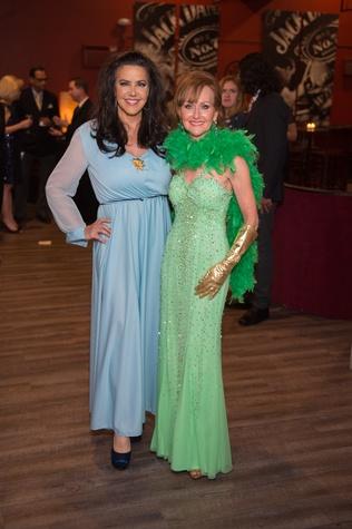 Baylor College of Medicine gala 4/16 Robin Young-Ellis, Carol Sawyer