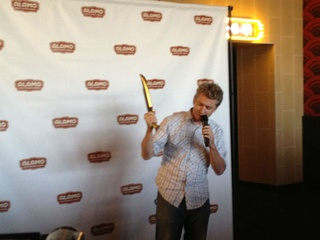 CEO Tim League at Alamo Drafthouse in Richardson