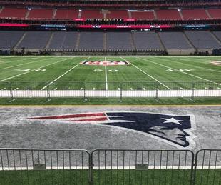 NRG Stadium Super Bowl LI Field