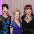 Dr. Kelli Cohen Fein, from left, Margaret Alkek Williams and Barbara Van Postman at the Medical Bridges Gala September 2014