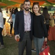 8 Christopher and Carolyn Dorros at the Toss for Texas Children's Hospital October 2014