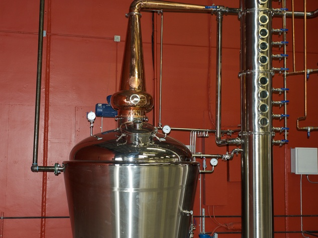 3 Yellow Rose Distilling September 2014 equipment