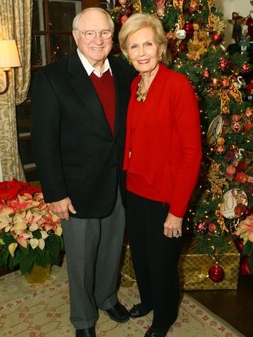 Frank King, Merrie Ann King, DA Holiday Party