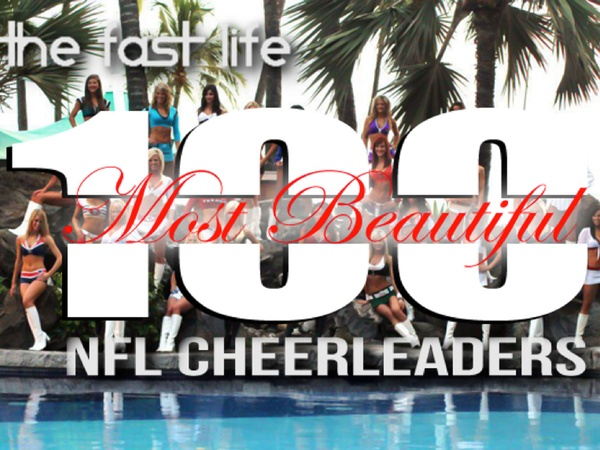 most beautiful NFL cheerleaders, December 2012, logo