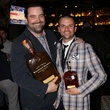 Brian McCullough and Rich Allison at Woodford Reserve Manhattan party
