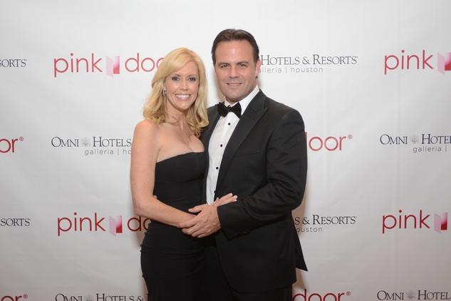2 Katie McCall and David Noll at the Pink Door Gala November 2014