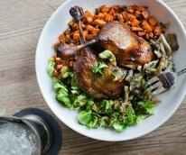 Chicken from HG Sply Co. restaurant in Dallas