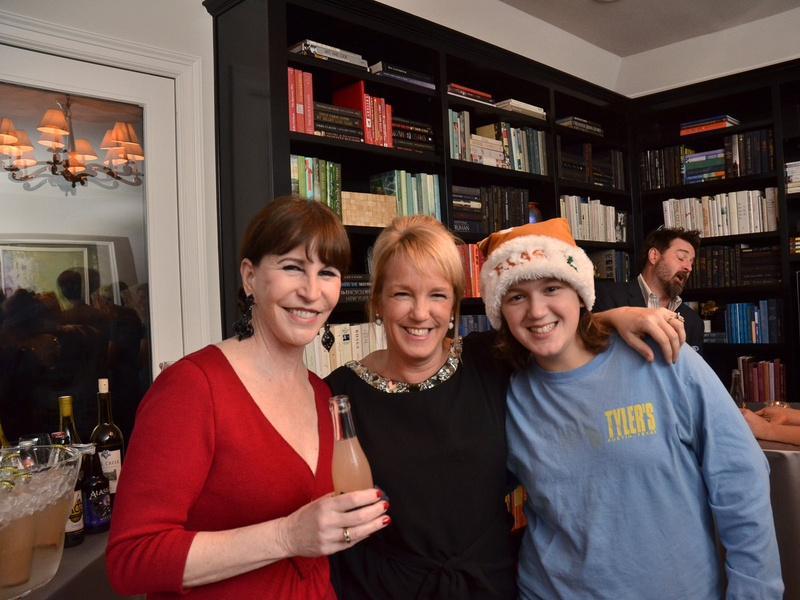 21, CultureMap Alyce party, December 2012, Shelby Hodge, Alyce Alston, Sarah Brooks Biggs