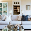 Dennis Quaid Lake Austin Living Room Detail 2