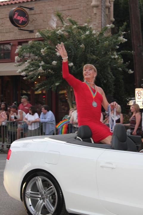 Gay Pride Parade, Female Grand Marshall, Jenifer Pool, June 2012