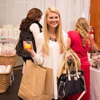 Hillary Barwick at CultureMap Holiday Pop-up Shop 2014