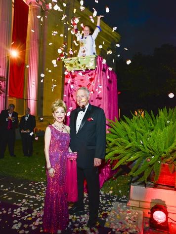2 Margaret Alkek Williams and Jim Daniel at the MFAH Grand Gala Ball October 2013