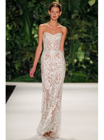 Naeem Khan Bridal Collection trunk show at Joan Pillow Bridal Salon April 2014 MADEIRA