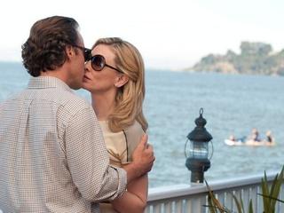 Blue Jasmine movie scene kiss dude and Cate Blanchett