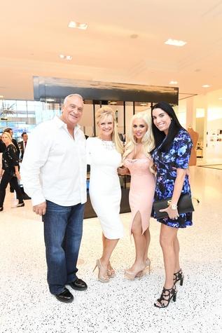 Fashion Gene Event, 5/16 /Danny Johnson, Tammie Johnson, Brittney Randolph, Stephanie Mushin