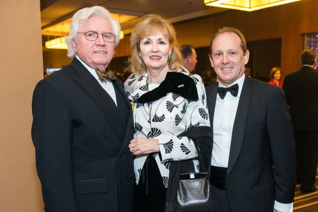 70 Cappy and Darlene Bisso, from left, with Franco Valobra at the Houston Children's Charity Gala November 2014