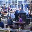Katy Trail Ice House with fire pit