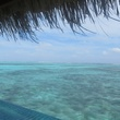 Maldives view from bungalow