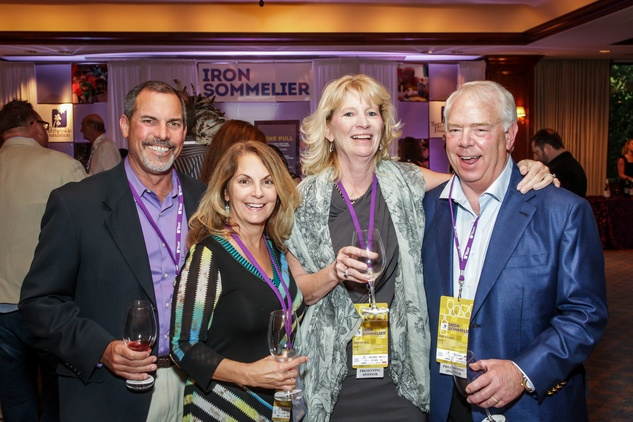 Houston, Periwinkle Foundation Sommelier Competition, September 2015, Ken and Camilyn Brucker; Julie Cannoy, Doug Osburn