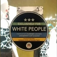 Racist Sticker East Austin Store