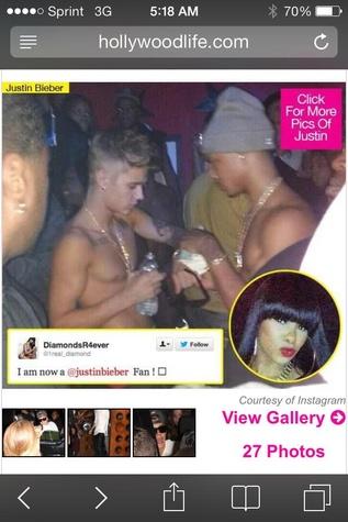Justin Bieber at Houston strip club October 2013