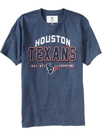 Houston Texans, T shirt, Old Navy