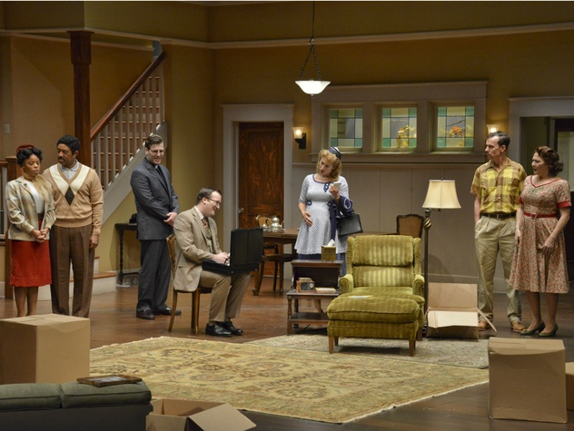 Cast of Dallas Theater Center's Clybourne Park