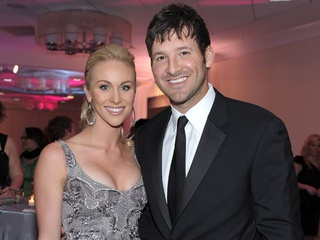 Candice Crawford and Tony Romo